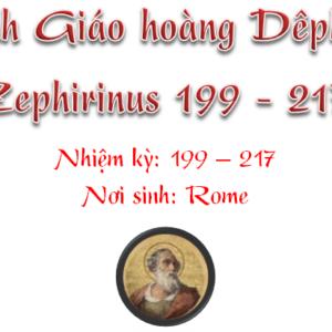 Triều đại 15: Thánh Giáo hoàng Dêphirinô